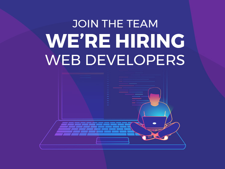 We're hiring! Talented web developer to join our team