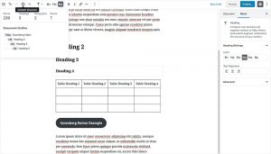 WordPress 5.0 Gutenberg Editor - SEO Page Structure