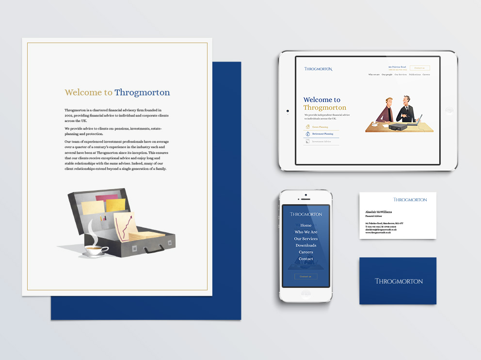 Throgmorton Branding Example