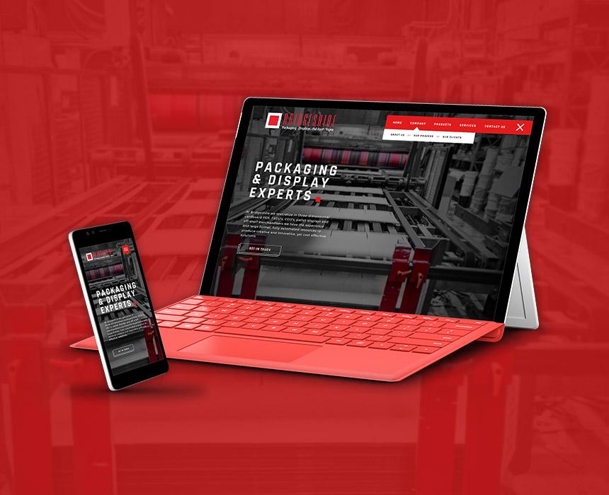 Bridgeshire Website Design