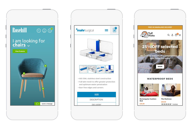 Responsive Ecommerce Web Design Examples