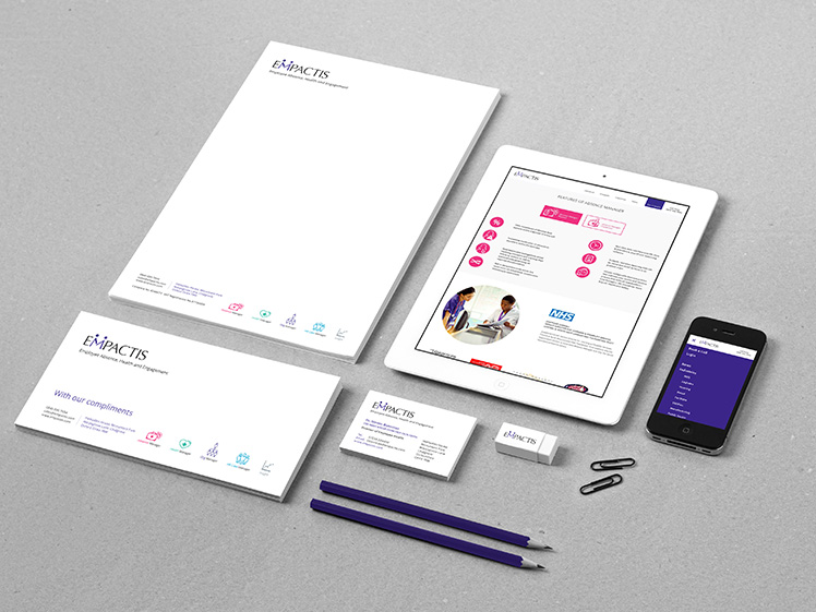 Empactis Business Stationery Design & Print