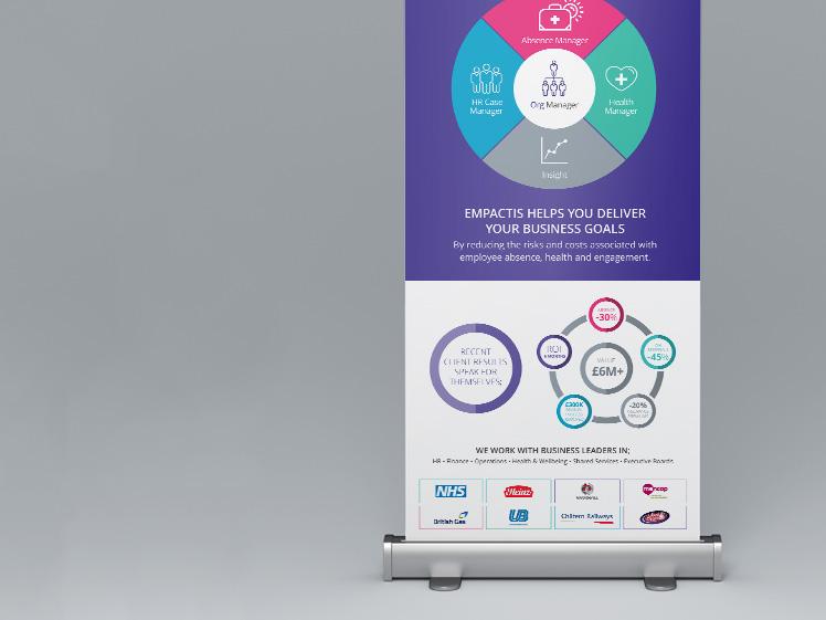 Empactis Roller Banner Design & Print