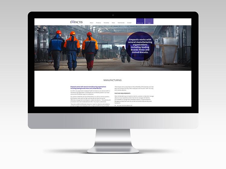 Empactis Web Design