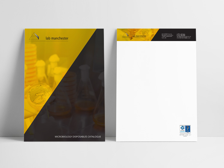 Lab Manchester Business Stationery Design