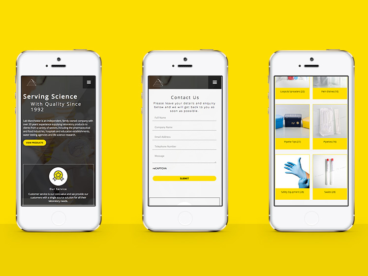Lab Manchester Responsive Web Design