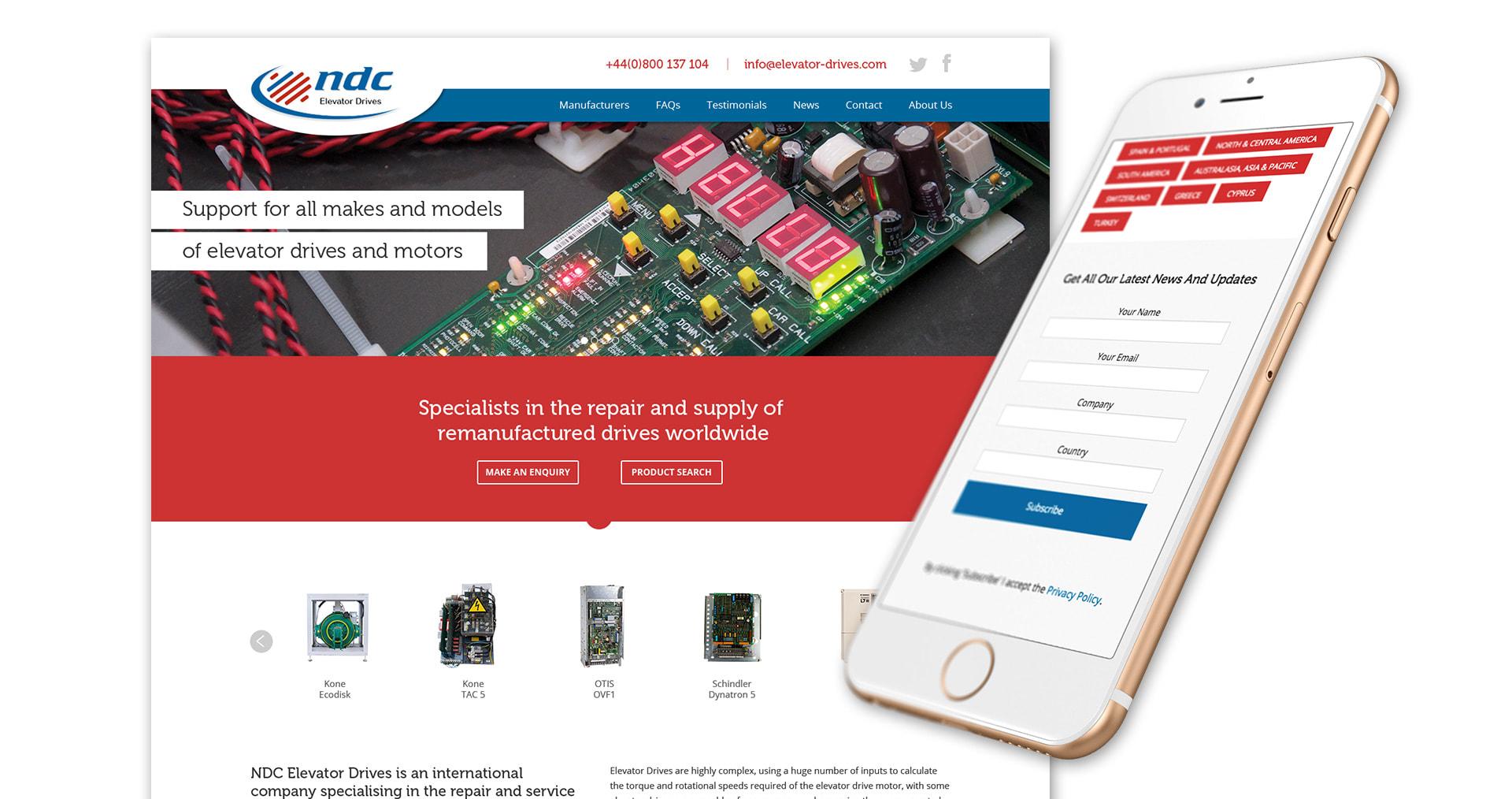 NDC Ecommerce Web Design Showcase