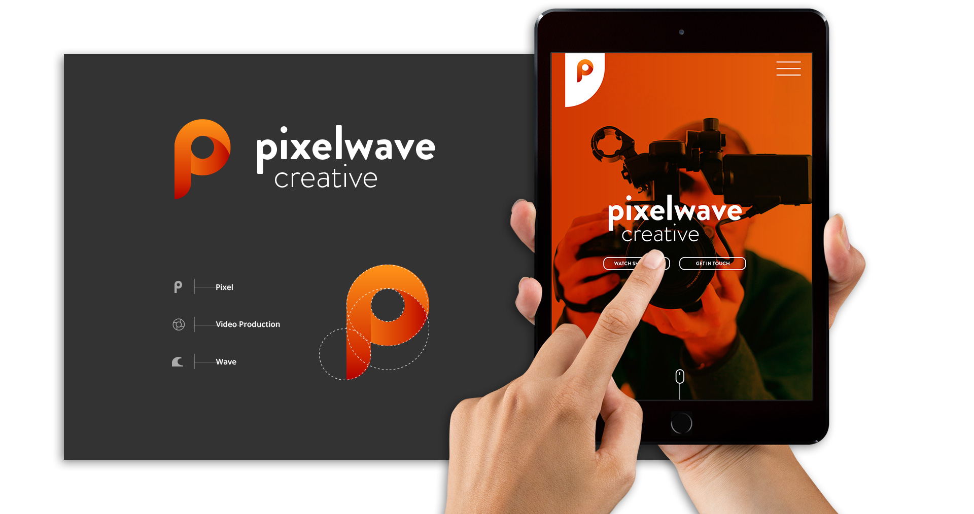 Pixelwave Creative Web Design & Branding Showcase