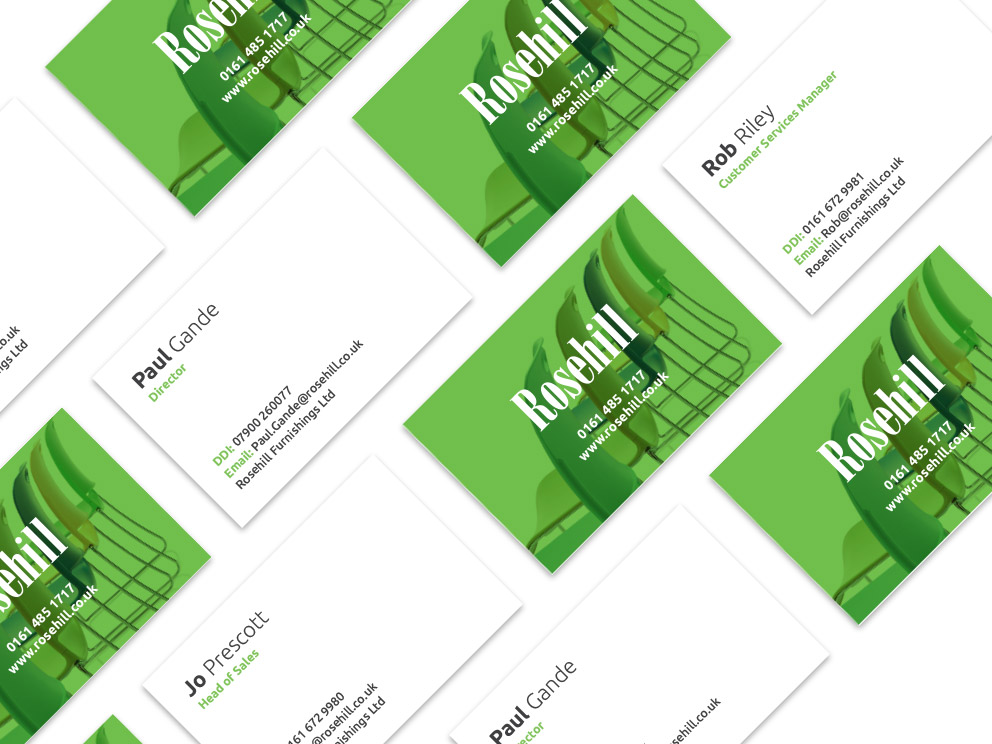 Rosehill Business Card Design Examples