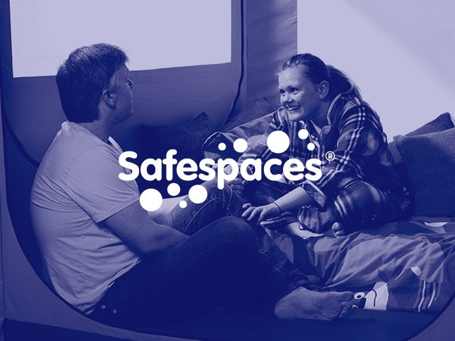 Child in a Safespaces product