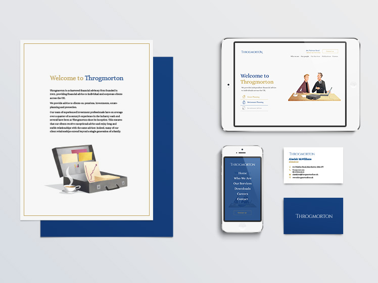 Throgmorton Business Branding